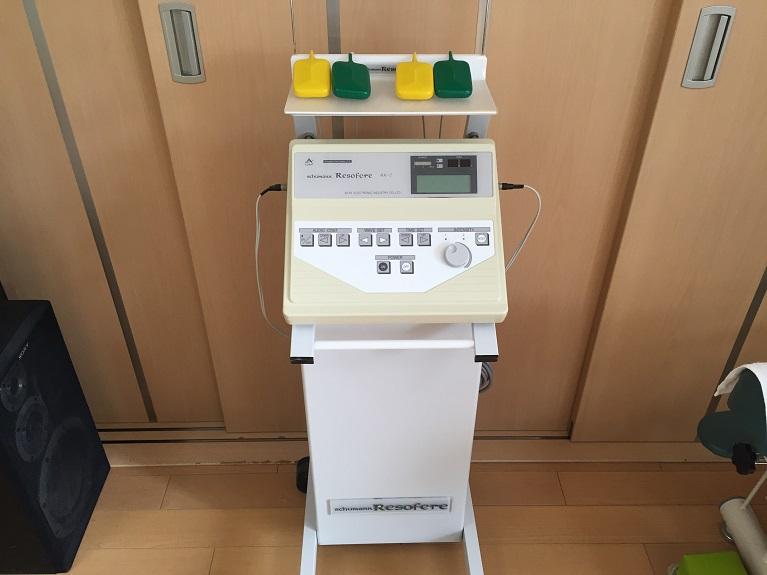 ダブル干渉波治療器