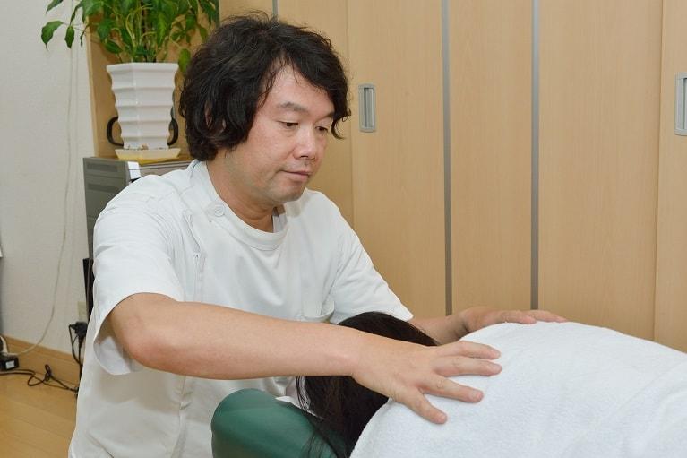 Step5.手技による治療と治療説明